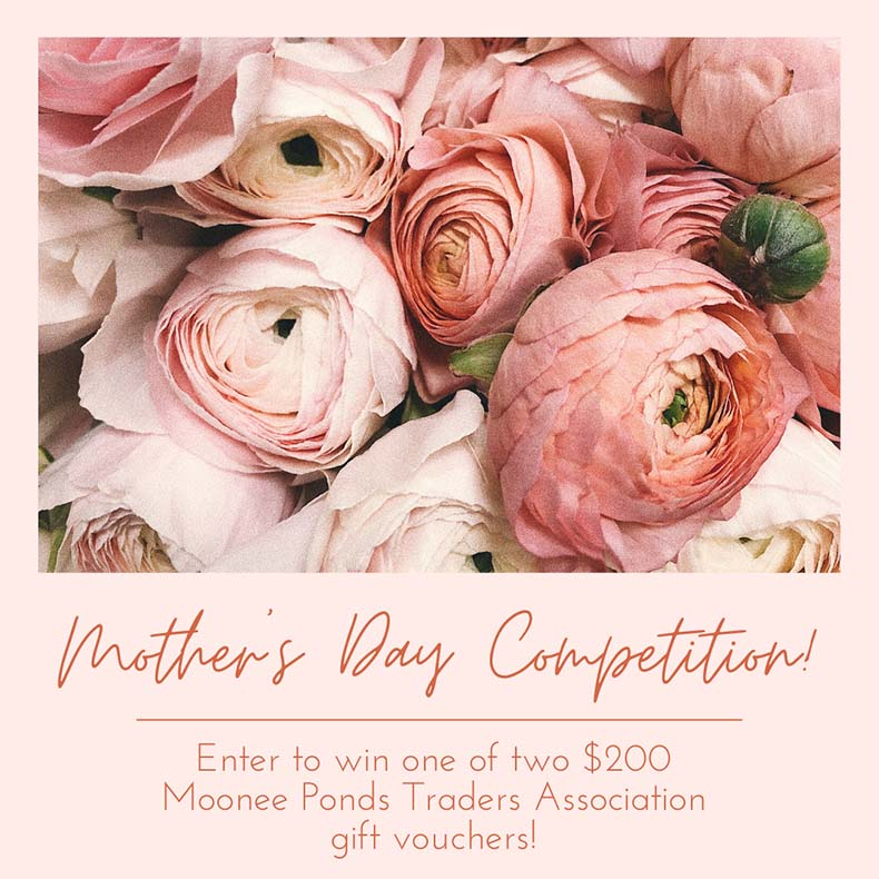 Moonee Ponds Mother's Day Competition Post Image